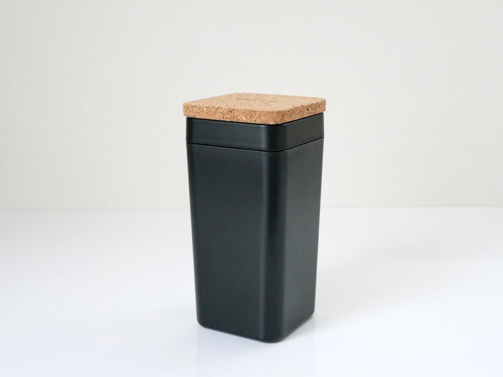 【B2C】  ウェットティッシュスタンド コルク蓋 /ブラック
