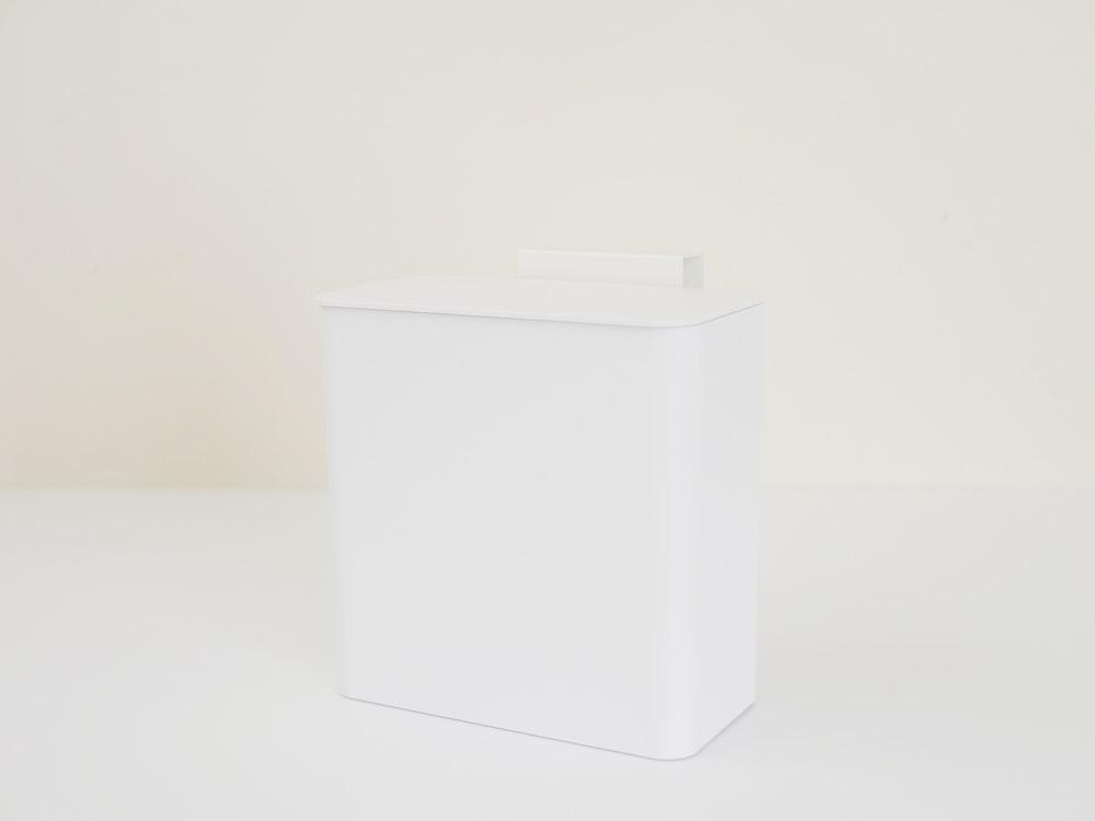 【tower】マグネット&シンク扉ゴミ箱 ホワイト