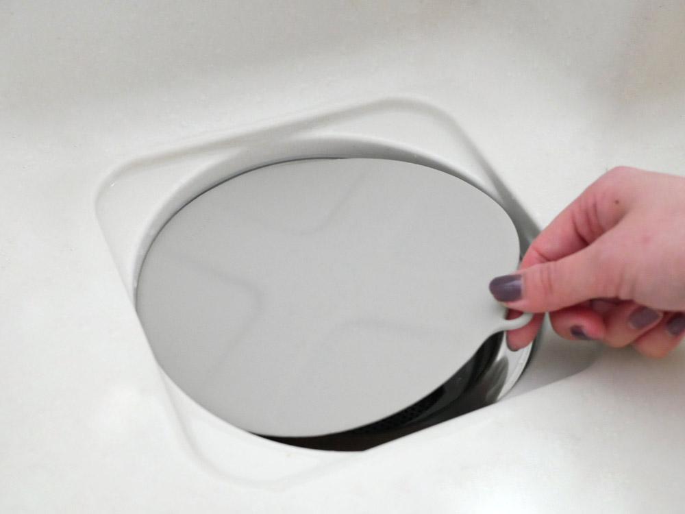 【MARNA】掃除の達人 つけ置き洗いキャップ グレー
