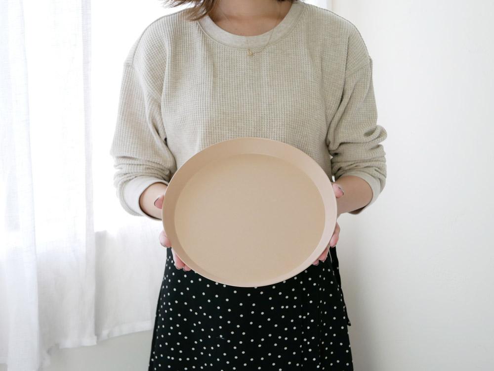 【usumono】plate24 ベージュ