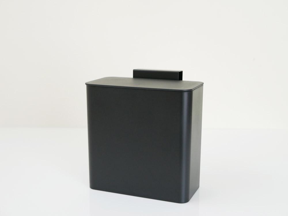 【tower】マグネット&シンク扉ゴミ箱 ブラック