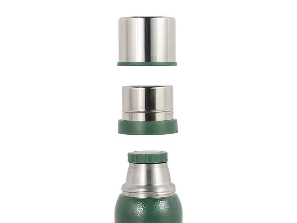 【DULTON】バキュームボトルダブルカップ グリーン