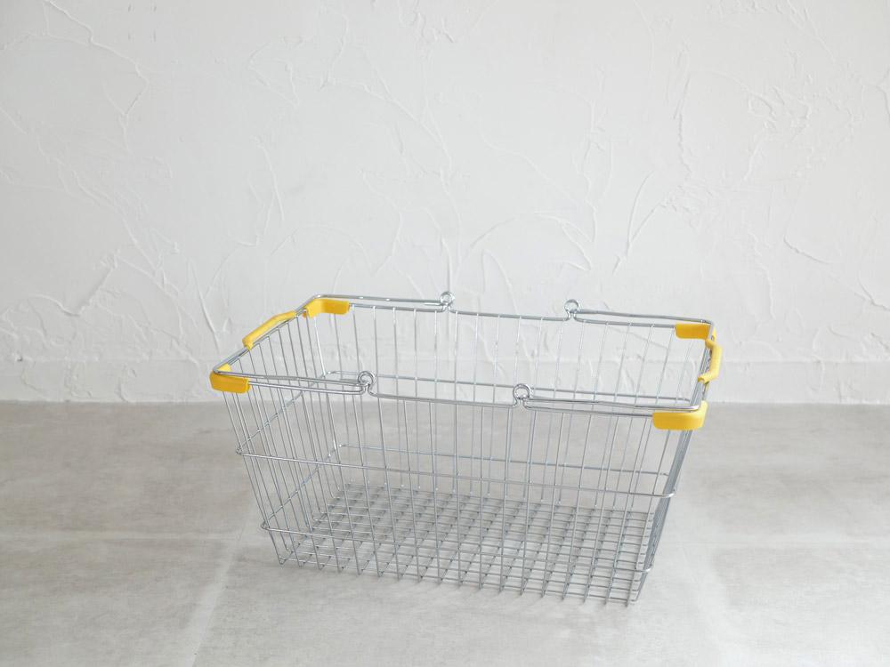 【DULTON】マーケットバスケット L クロームイエロー