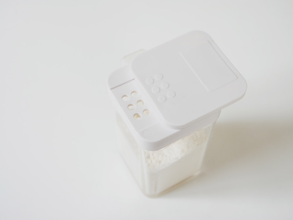 【tower】小麦粉&スパイスボトル ホワイト
