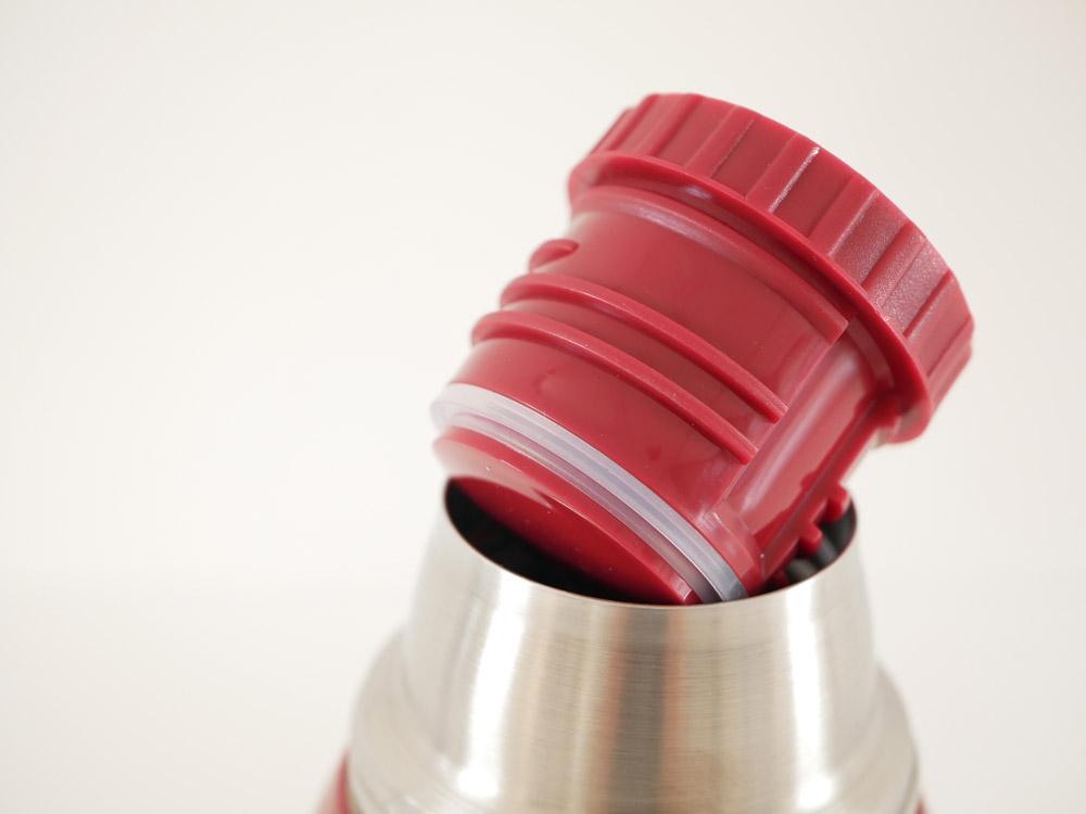 【DULTON】バキュームボトルダブルカップ レッド