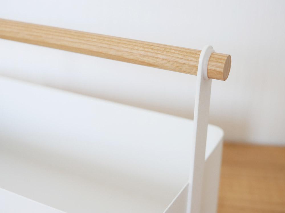 【tosca】ツールボックス L/ホワイト