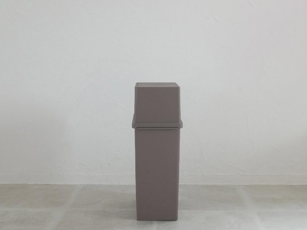 【like-it】ヨコ型フロントオープンダスト(深)ブラウン
