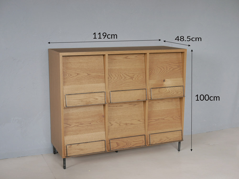 【adepech】 cadealレコードラック 3x2-box【受注生産品・メーカー直送・代引き不可商品】