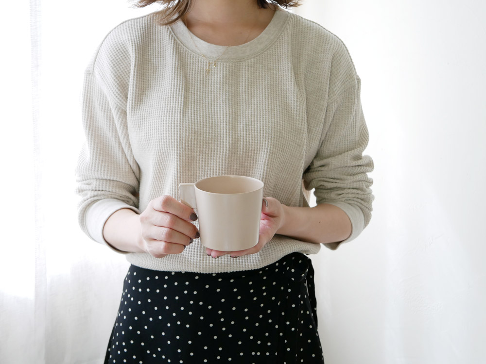 【usumono】cup ベージュ
