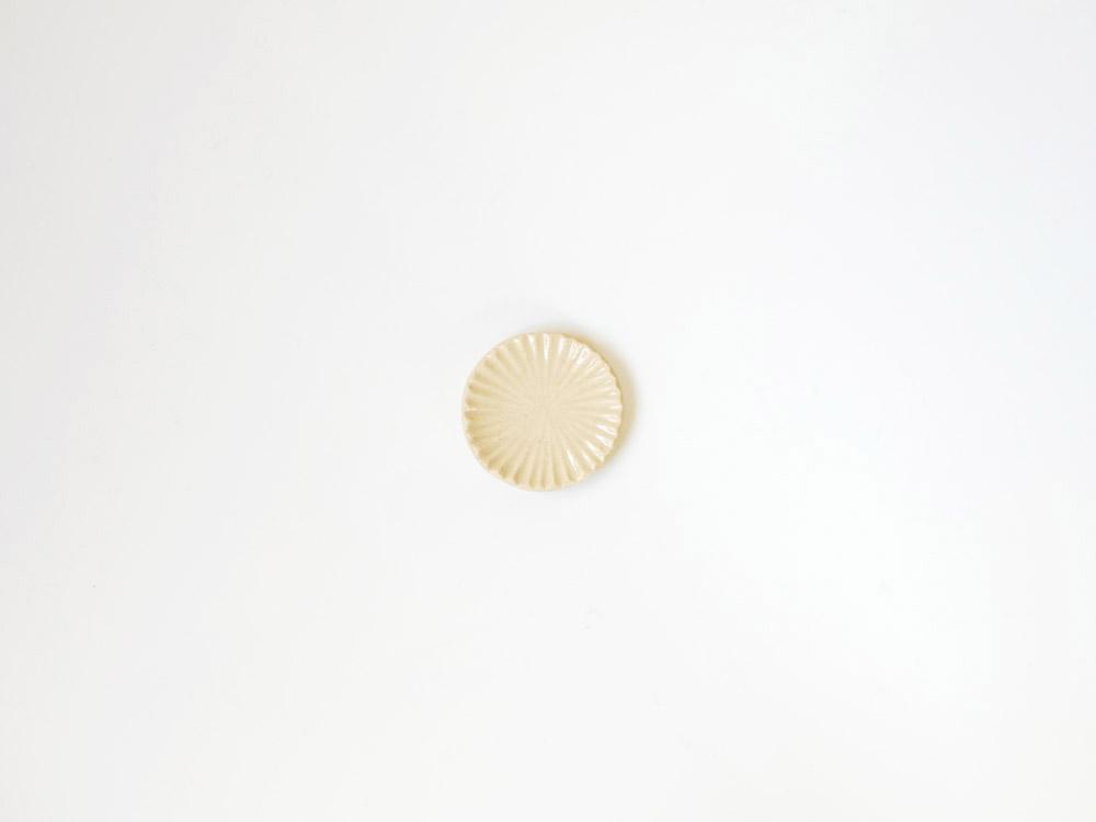 【俊峰陶苑】花あかり 丸箸置/こでまり