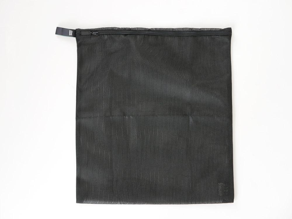 【b2c】ランドリーネット フラットリバーシブル L ブラック