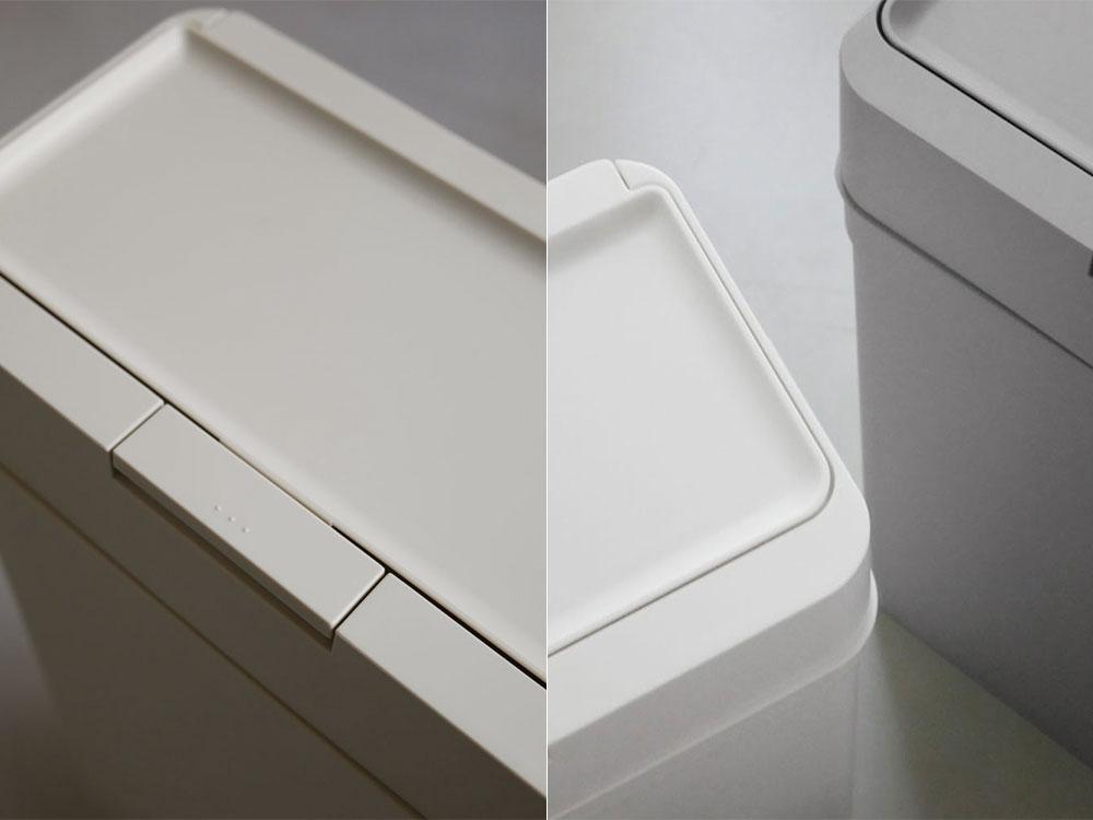 【like-it】シールズ9.5 密閉ダストボックス ホワイト