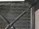 【adepeche】スタッキングスツールメッシュ スツール ブラック【受注生産品・メーカー直送・代引き不可商品】