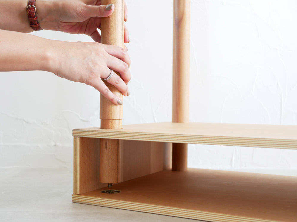 【Ply wood Series】パレット PCH デスク/奥行390mm