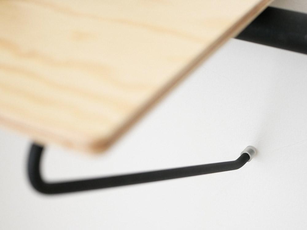 【DRAW A LINE】004 Shelf A ブラック