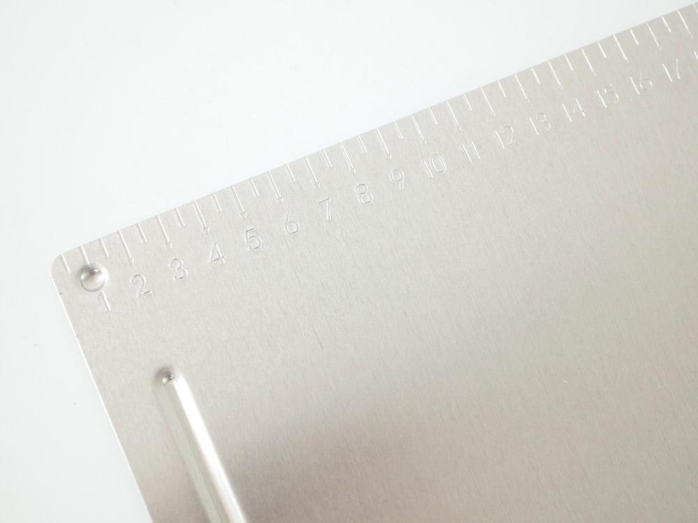 【DULTON】メタルクリップボード B5 ブラス