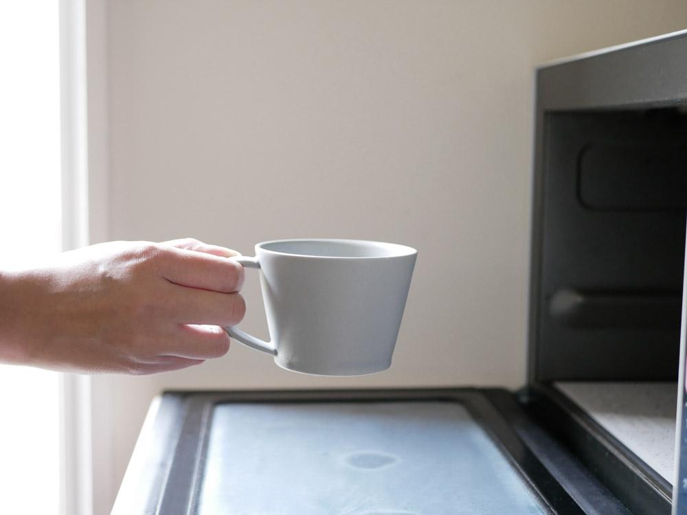【SAKUZAN】Sara コーヒーカップ グレー
