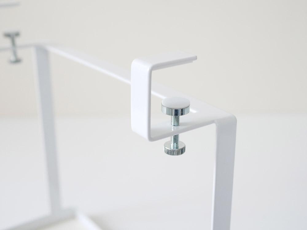 【tower】 洗面戸棚下ラック ホワイト
