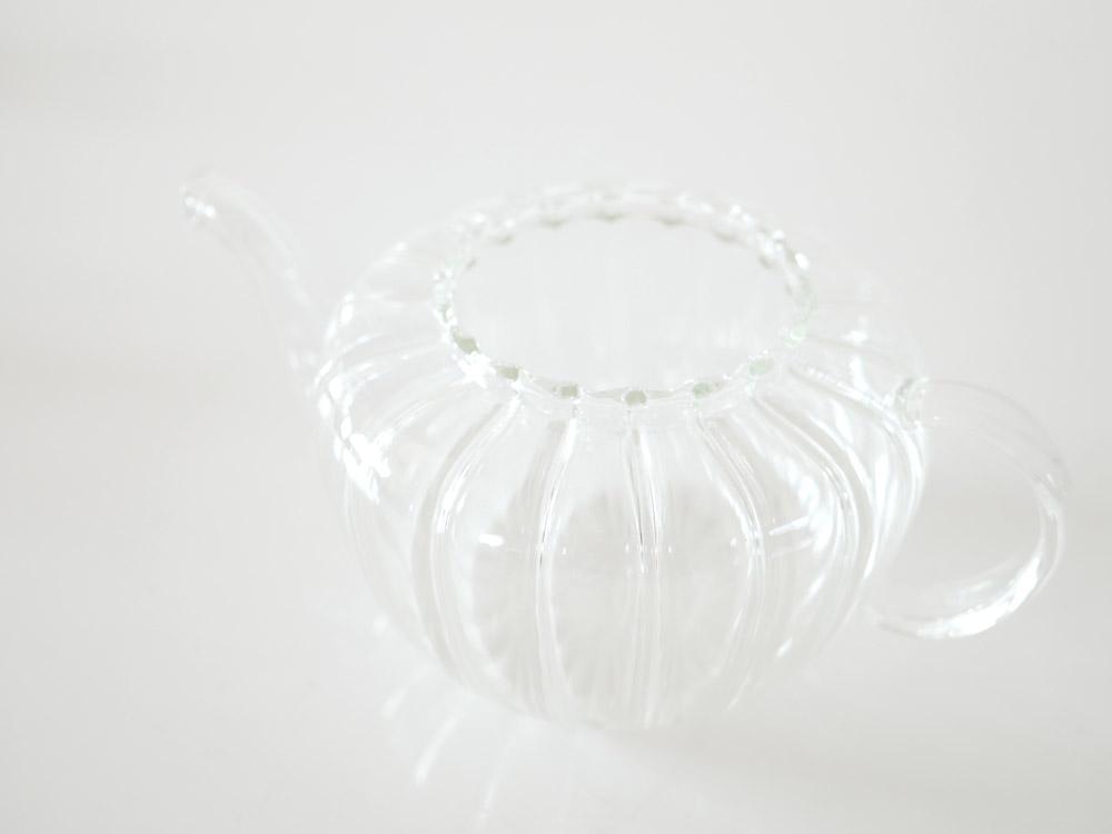 【DULTON】ガラスティーポット パンプキン