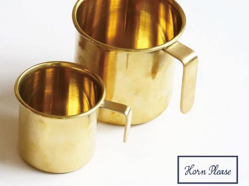 【Horn Please】BRASS カップ ヒッチ(S)