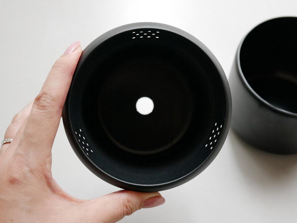 【 FUJITA KINZOKU】プラントポット ハチ(3号サイズ)