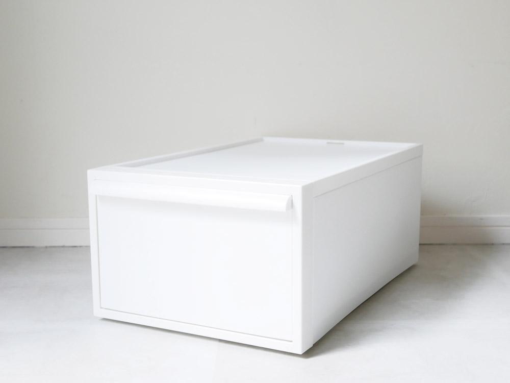 【予約販売12月中下旬入荷予定】【like-it】クローゼットシステム 引出し(M) 3個組 ホワイト
