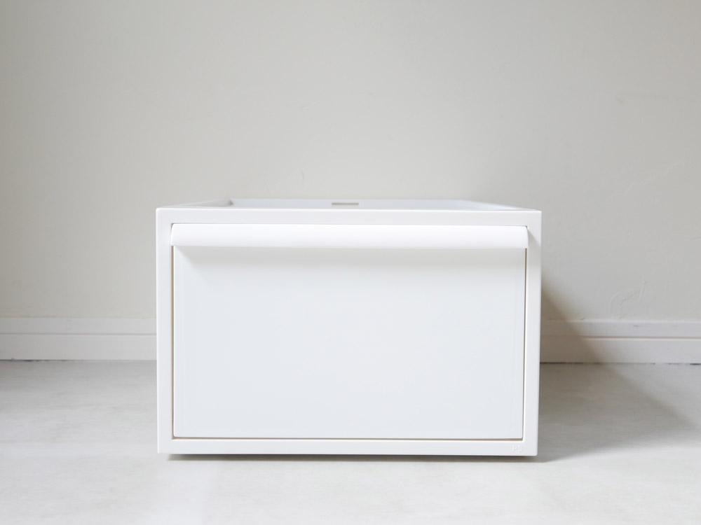 【like-it】クローゼットシステム 引出し(M) 3個組 ホワイト
