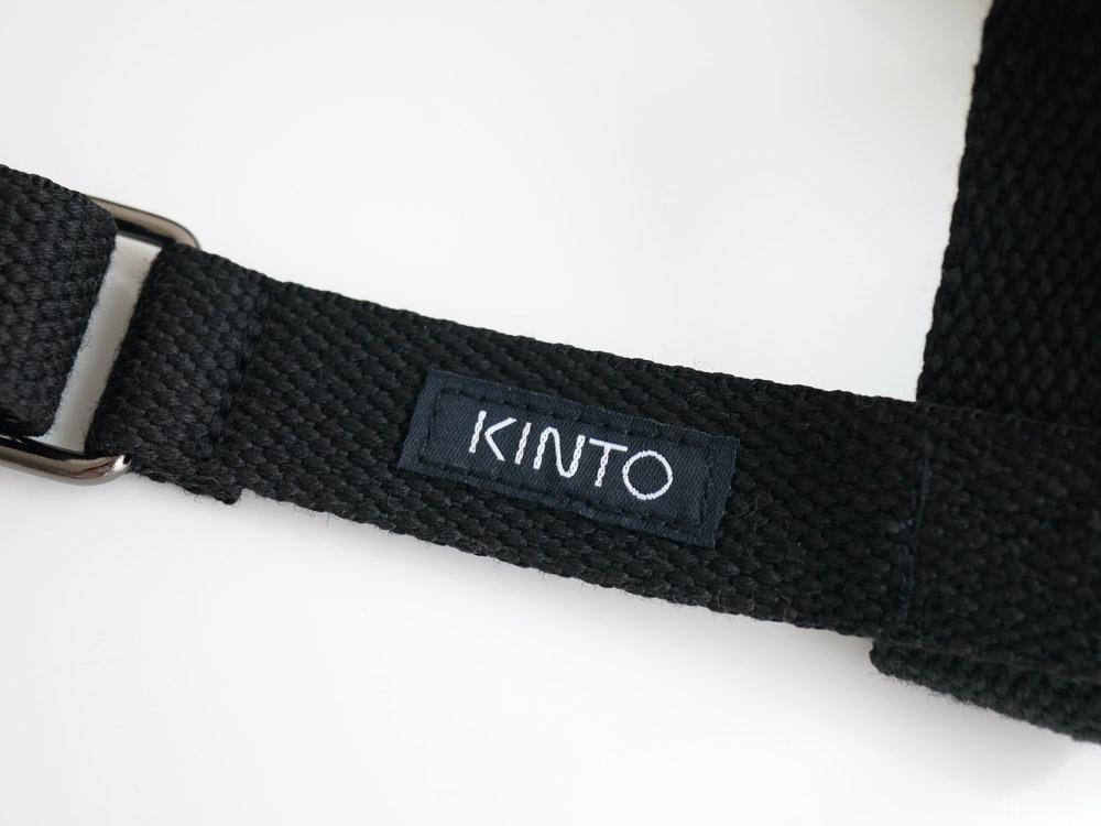 【KINTO】タンブラーストラップ 75mm ブラック