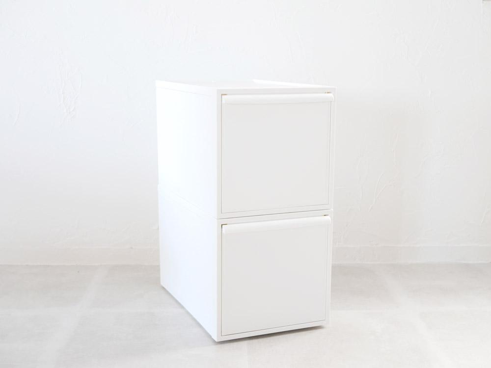 【予約販売12月中下旬入荷予定】【like-it】クローゼットシステム 引出し(L) 2個組 ホワイト