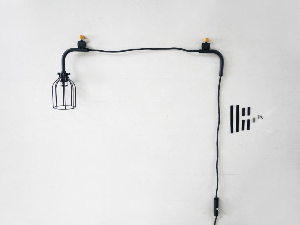 【DRAW A LINE】007 Lamp A ブラック