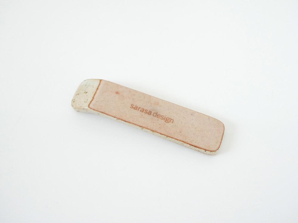 【sarasa design×イブキクラフト】 カトラリーレスト/グレー