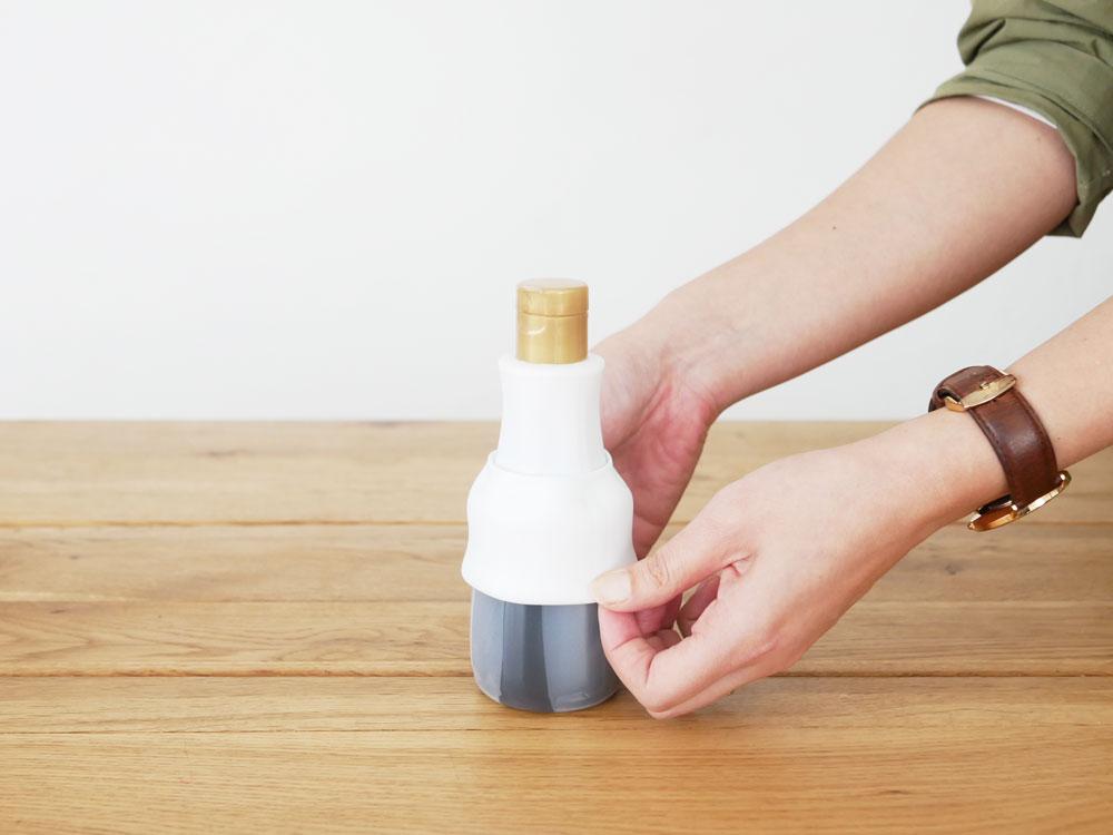 【tower】卓上醤油ボトルカバー ホワイト