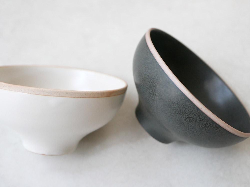【sarasa design×イブキクラフト】ご飯茶碗 S ブラック