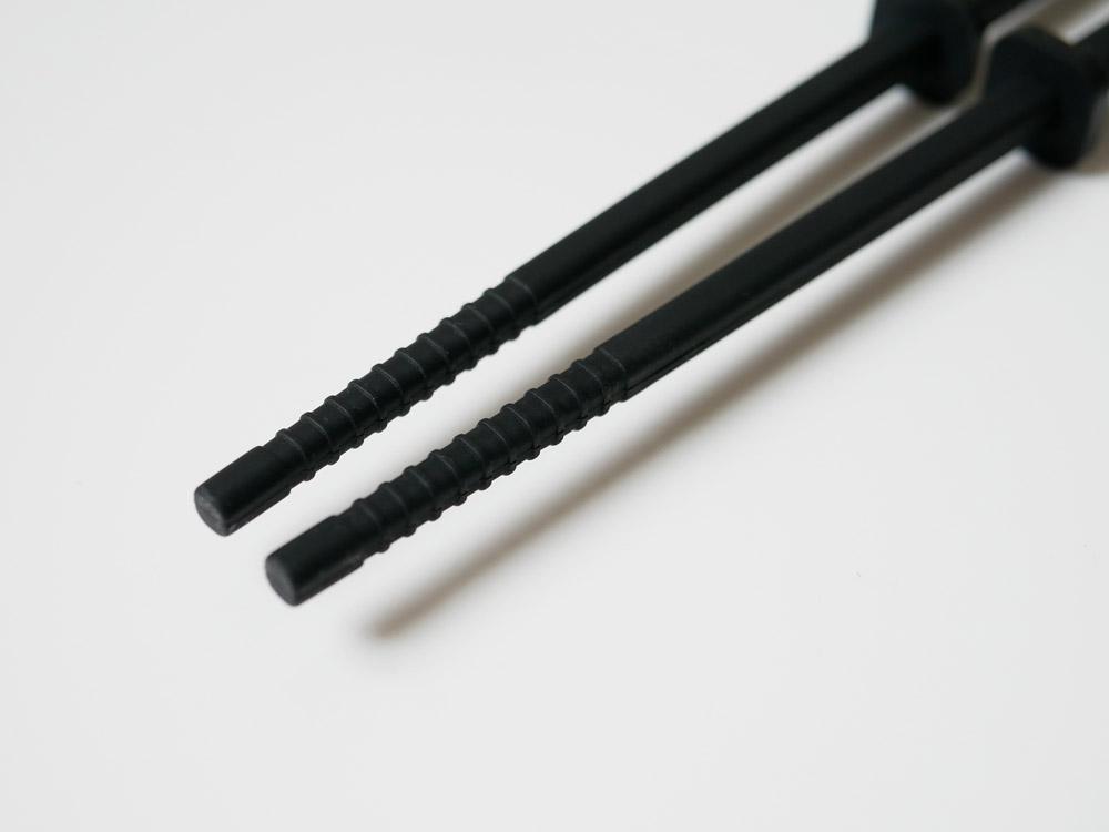 【tower】シリコーン菜箸 ブラック