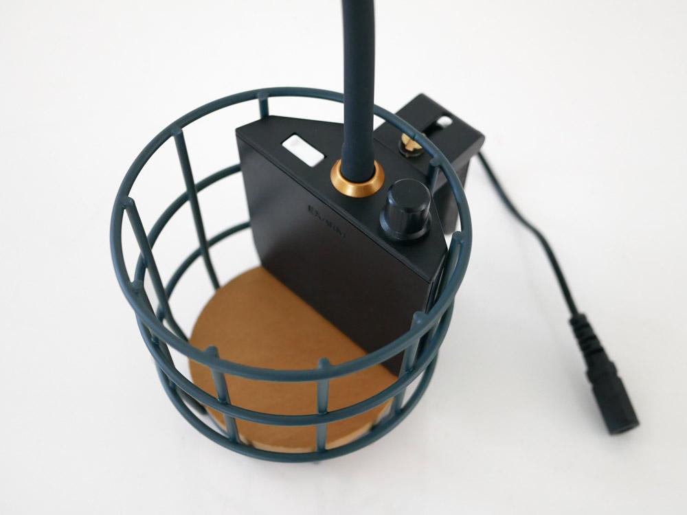 【Another Garden】USB ワイヤーバスケットライト ブルー