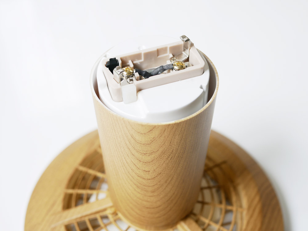 【Slimac】UZUKAZE mini 電球色 ナチュラル