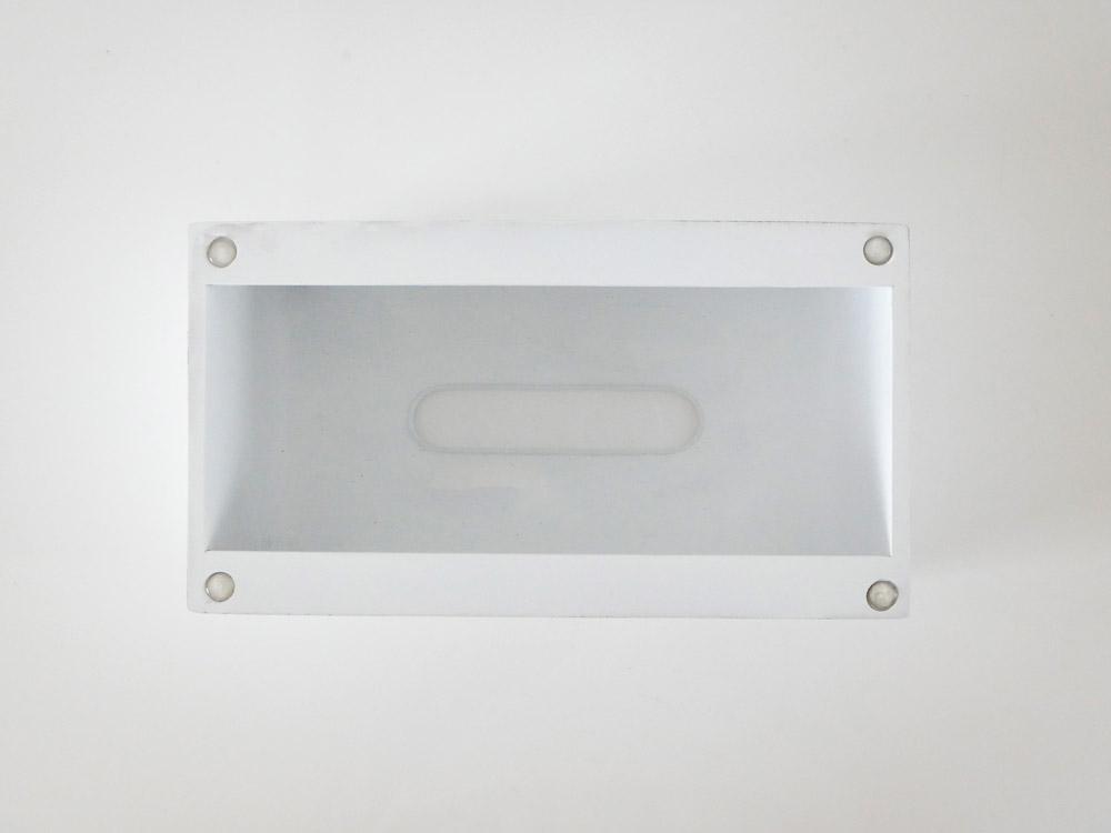 【ideaco】Tissue Case SP ホワイト