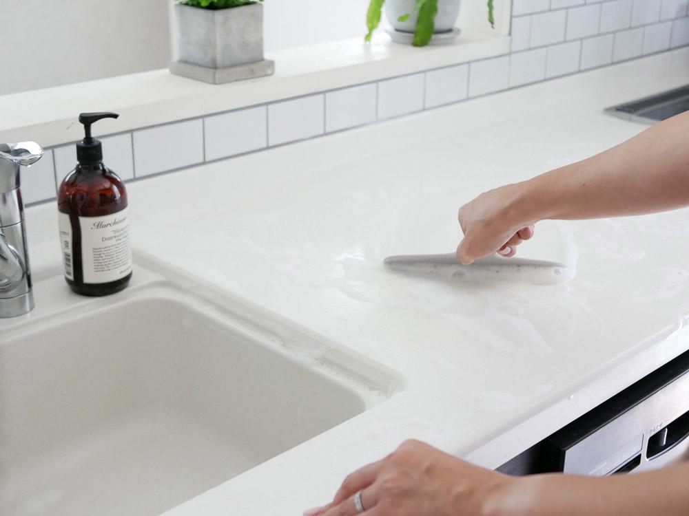 【MARNA】 お風呂のスキージー グレー