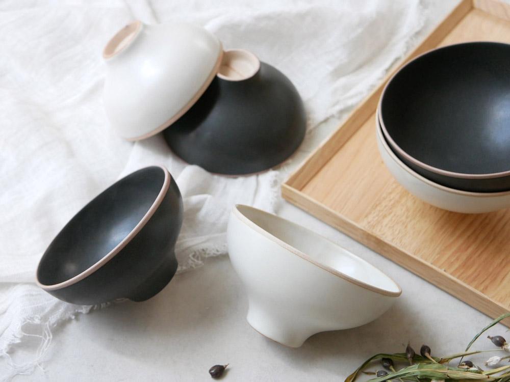 【sarasa design×イブキクラフト】ご飯茶碗 M ホワイト