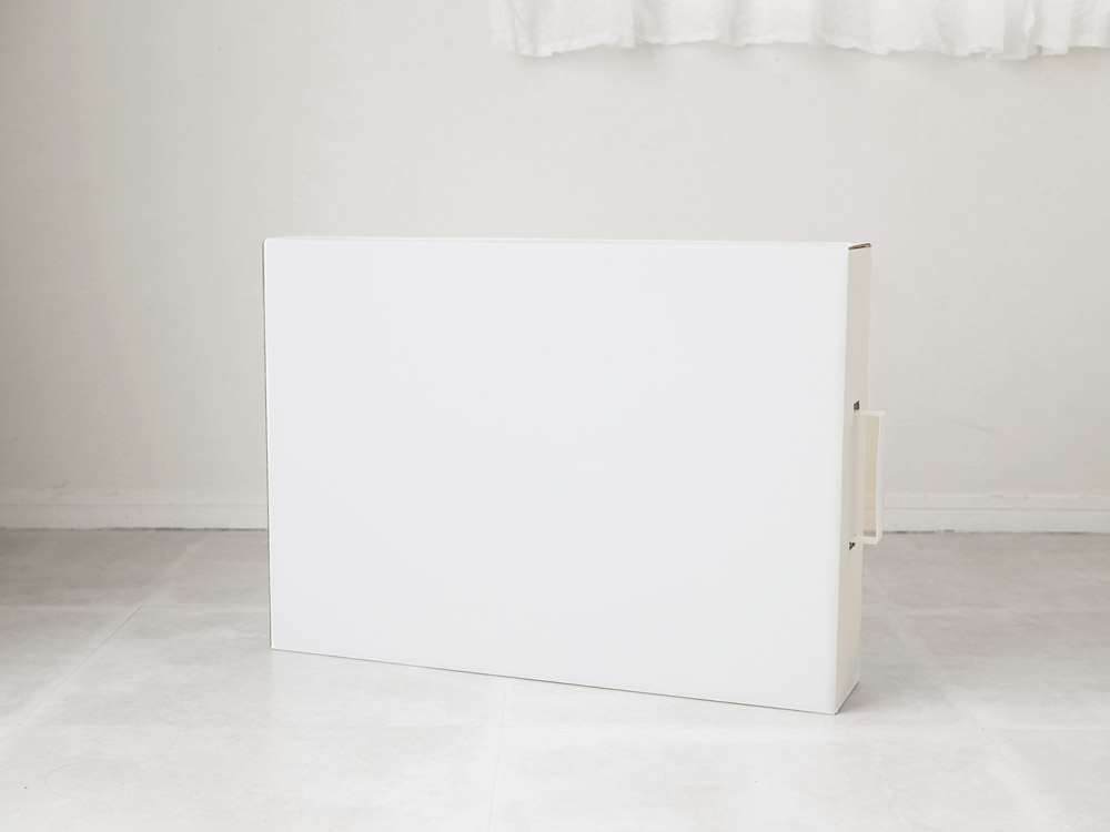 【tower】 作品収納ボックス 2個組 ホワイト