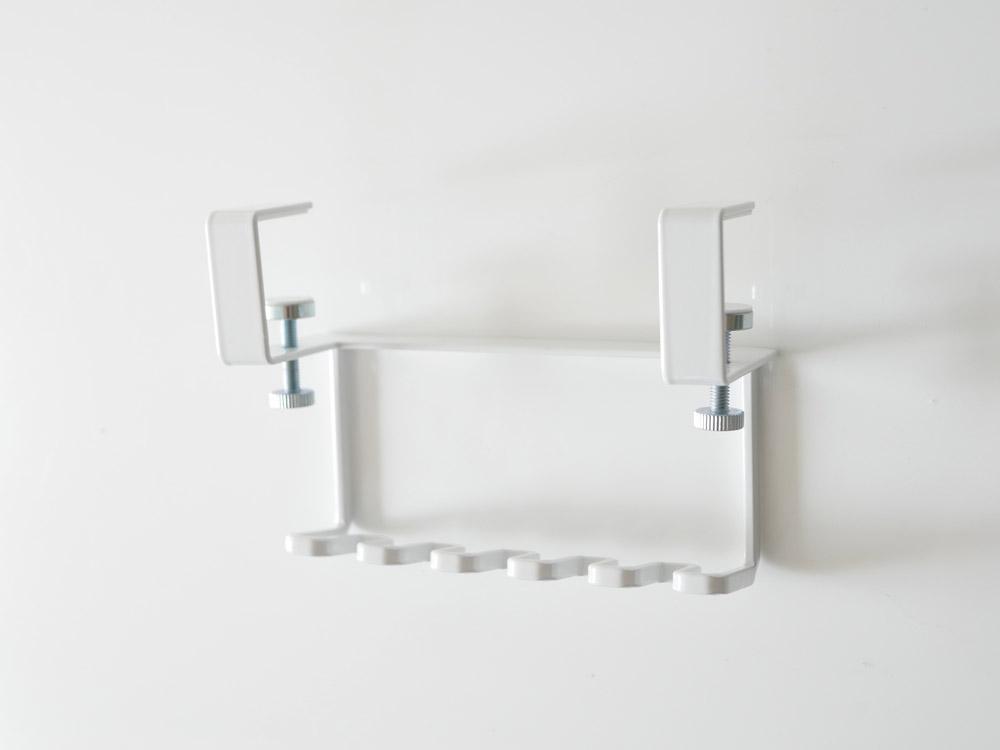 【tower】 洗面戸棚下歯ブラシホルダー ホワイト