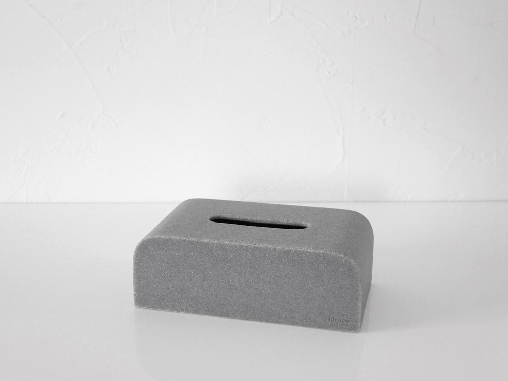 【ideaco】Tissue Case SP ストーンサンドグレー