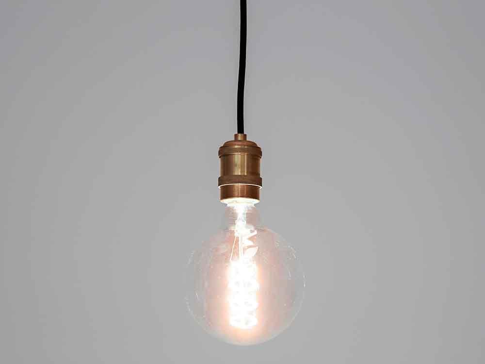 【BRID】ビンテージ LED電球 ボール ラージ E2/3W CL