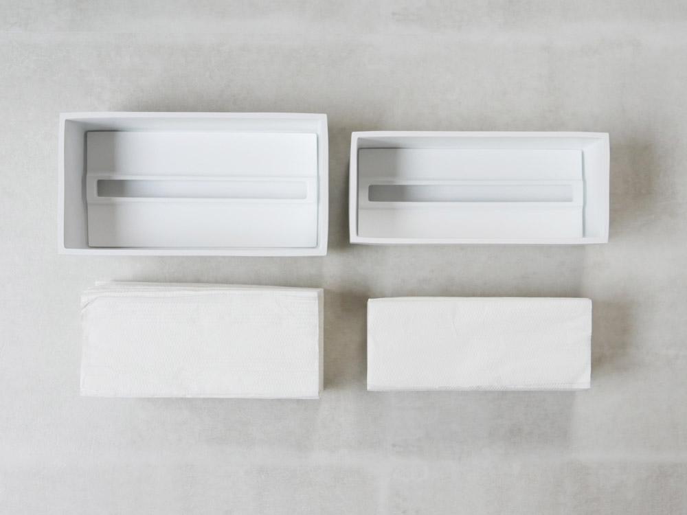 【Torel】ペーパータオルボックス 110 ホワイト