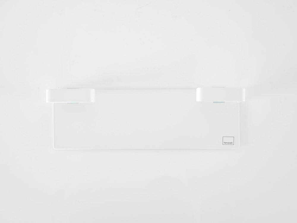 【Plate】マグネットレジ袋ハンガー ホワイト