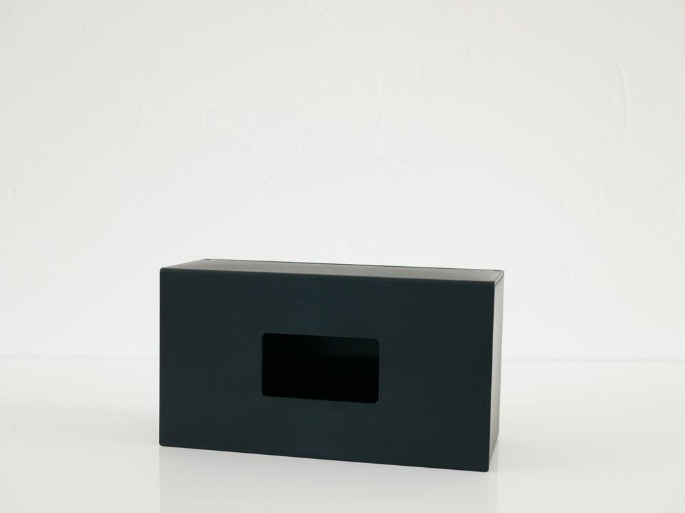 【tower】前から開くマグネットボックスホルダー L ブラック