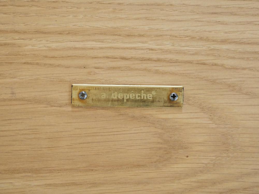 【adepeche】splem デスク L【受注生産品・メーカー直送・代引き不可商品】