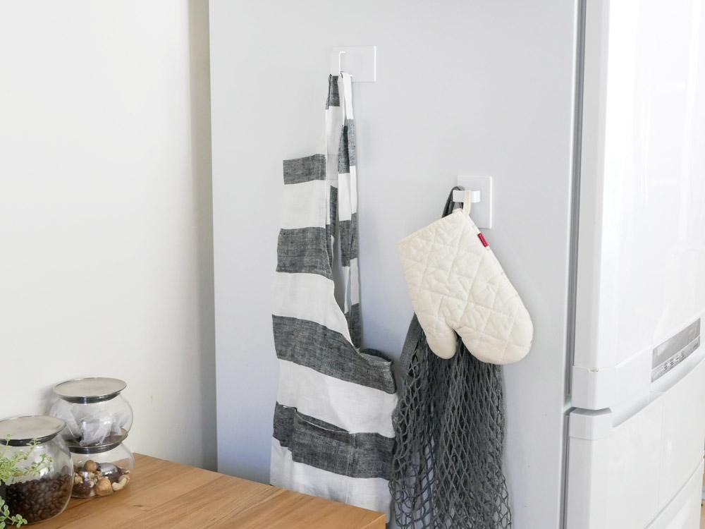 【tower】マグネットスプレーフック 2個組 ホワイト