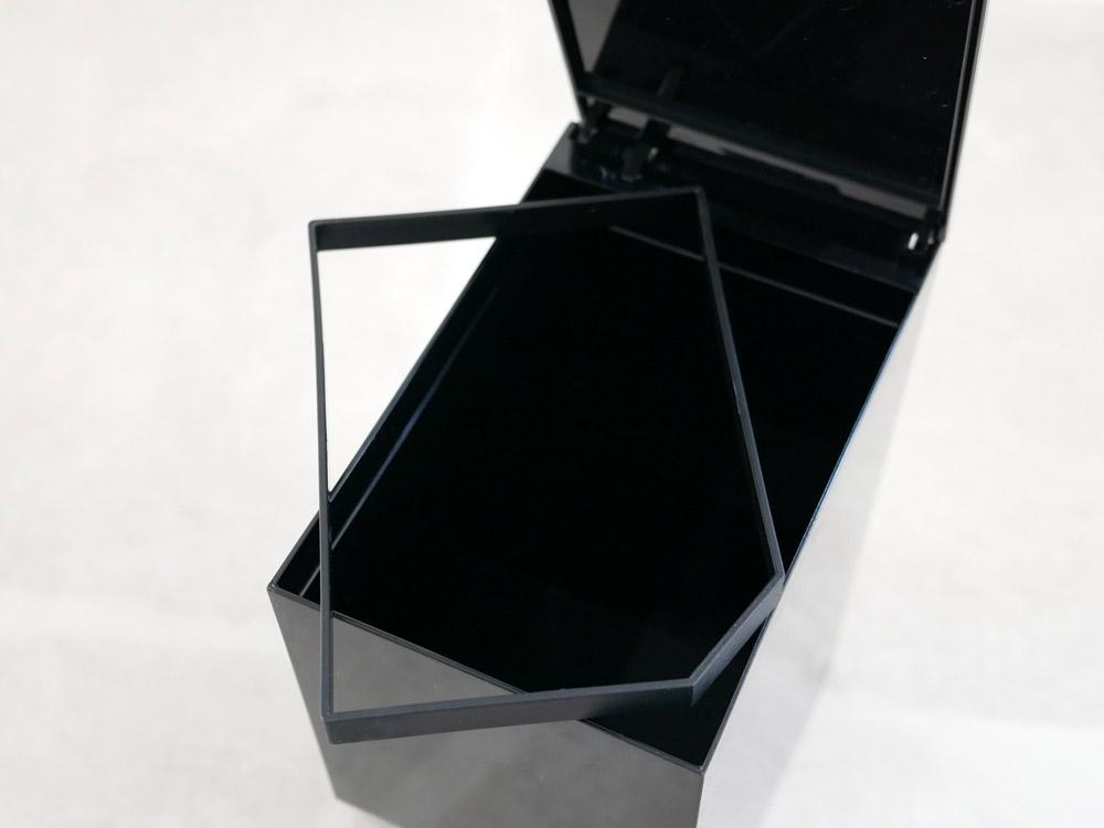 【tower】ペダル式トイレポット ブラック