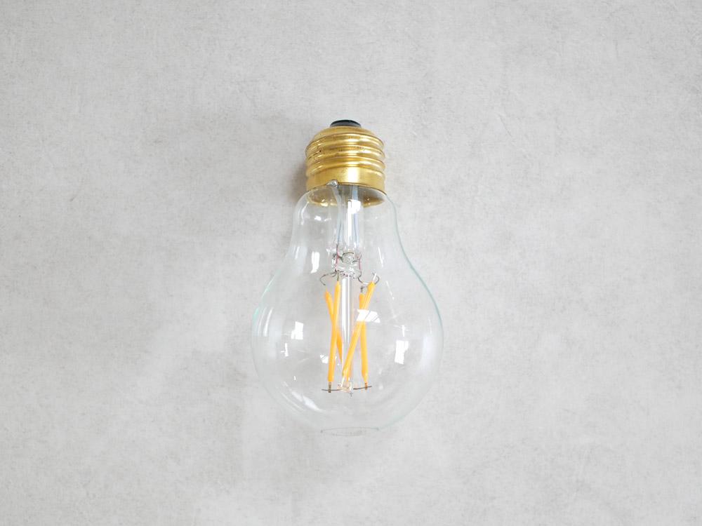 【BRID】ビンテージ LED電球 ノーマル E26/3.2W CL